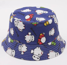 hot sale spring summer kids fisherman cap for children bucket hat outdoor casual print hip hop hip floral boys and girls sun hat
