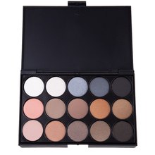 2016 Fashion Natural 15 Colors Magic Long Lasting Pearly Eyeshadow Palette Eye Shadow Charming Colors Make Up The Eyes