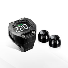 TPMS Wireless Sensor Motorcycle Tire Pressure Monitoring Waterproof LCD Display NEW Cimiva