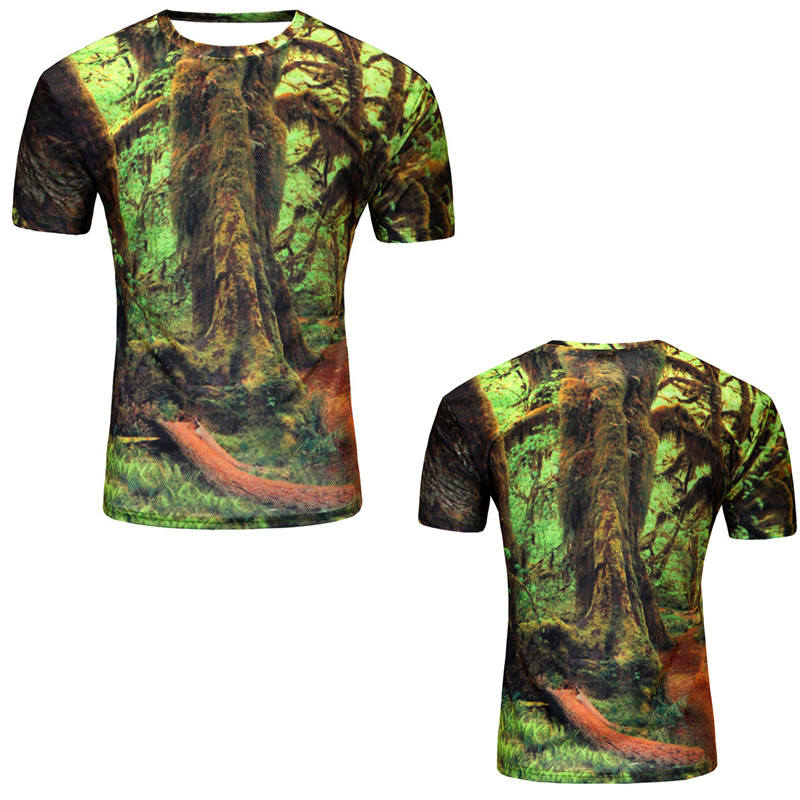 12 Color 3d print Lightning cat t shirt 10