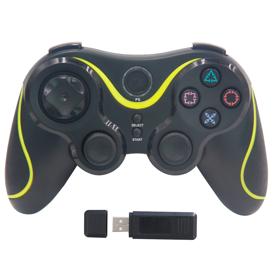 Wireless Controller Bluetooth Gamepad For PC Gamer PS 3 Controllers Gaming Joystick For Computer Video Game Playstation 3 Shock(China)