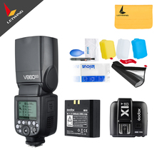In Stock!!! Godox V860II O V860IIO+ X1TO X1T-O Camera Flash Speedlite Strobe for Olympus Panasonic Lumix TTL HSS 1/3000 1/20000(China)