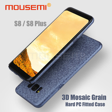 MOUSEMI Phone Cases For Samsung Galaxy S8 Case Shockproof Luxury Hard PC Mosaic Cover For Samsung Galaxy S8 Plus Case Cover 360(China)