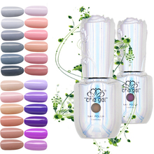 Formaldehyde free 6 colors gel nail art polish manicure decoration tools led uv gel nail polish set new arrivals 15(China)