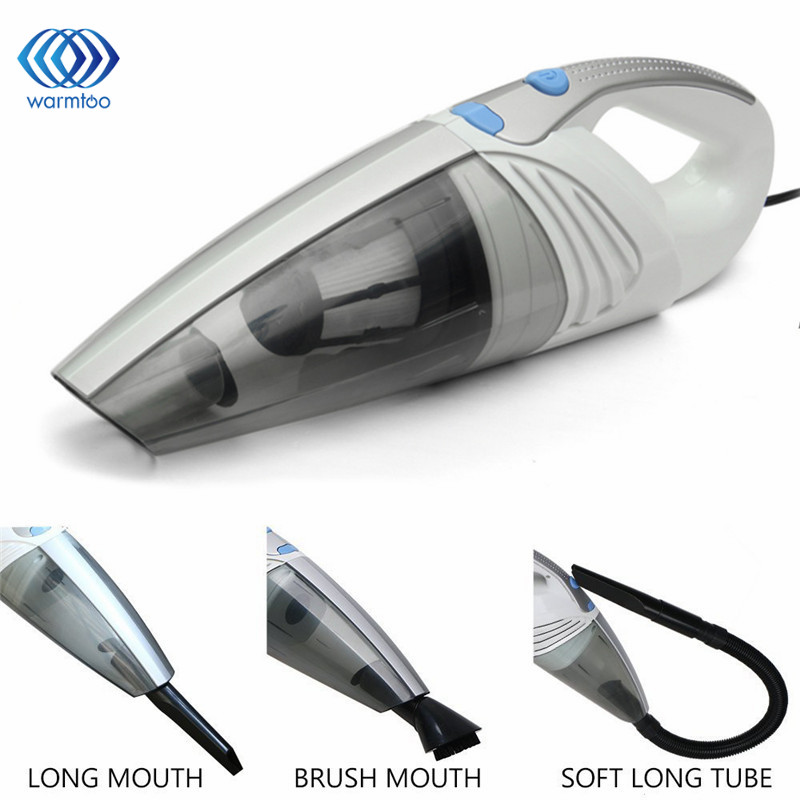 100W 12V Mini Super Suction Car Auto Vacuum Cleaner Hand held Wet Dry Dual Use Vaccum Cleaner Auto Accessories Car-styling(China (Mainland))