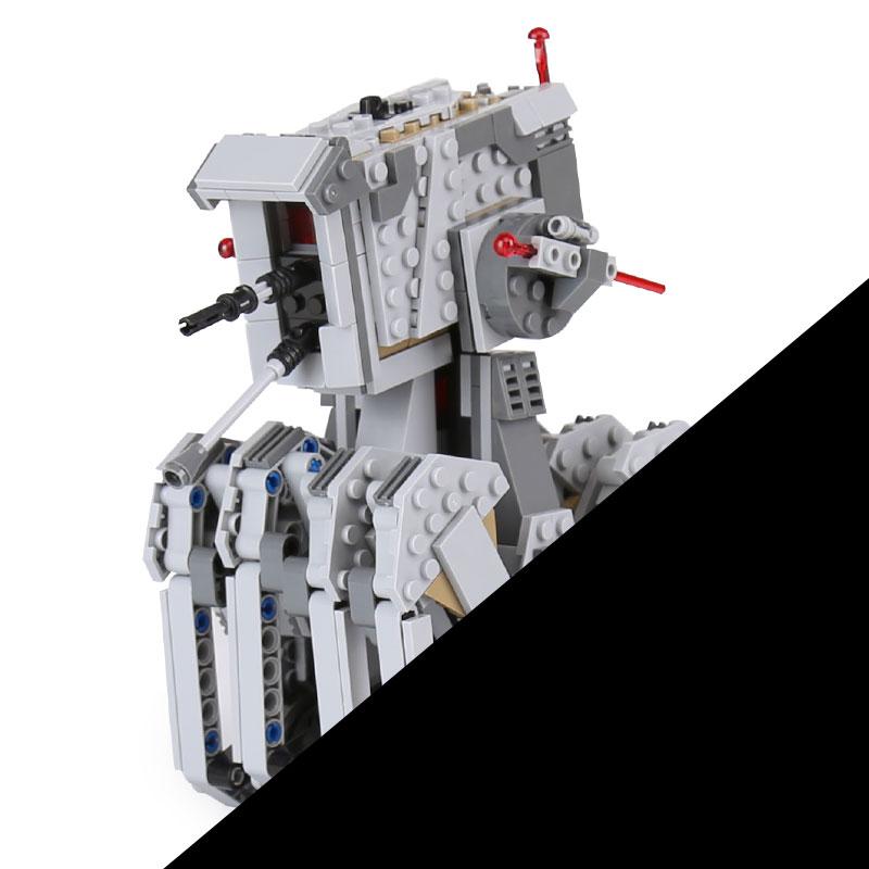 Lepin 05126 620Pcs Genuine Star Plan Wars Series The First order scout walker Set Building Blocks Bricks toys LegoINGlys 75177<br>