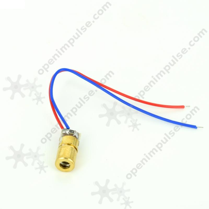 6 mm Red 5V Laser Diode Module-1
