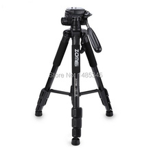 2017 Hot Sell New Zomei Q111 Professional Tripod Portable Pro Aluminium Tripod Camera Stand with 3-way Pan Head for Digital Dslr