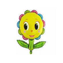 1pcs Lovely Colourful Sunflower Foil Balloons Kids Kindergarten Decoration Festival Supplie Sunflower Balloon classic toys