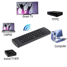 2.4G Mini Wireless Keyboard Israel Hebrew Keyboard Fly Air Mouse Remote Control Handheld IR Learning for TV Box Smart HTPC IPTV