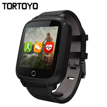 New Smart Watch U11S Android 5.1 OS 3G Sports Wristwatch Phone GPS Health Heart Rate Monitor Wifi Smartwatch Smartwatch 8GB ROM