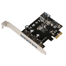USB 3.0 (3+1) 3 External + 1 Internal Ports pci-e PCI Experss  pcie Controller riser Card adapter wholesale
