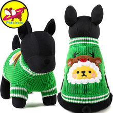 Petcircle Christmas Tree Dog Sweater hoodies New Year Pet Winter Warm Dog Clothes For Small And Large Dogs Size XXS XS S M L(China)