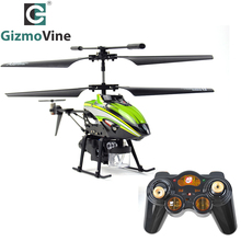 GizmoVine RC Helicopter V757 Helicoptere Telecommande 3.5CH Construit en Gyroscope RTF RC Helicopter avec Bubblecopter(China)