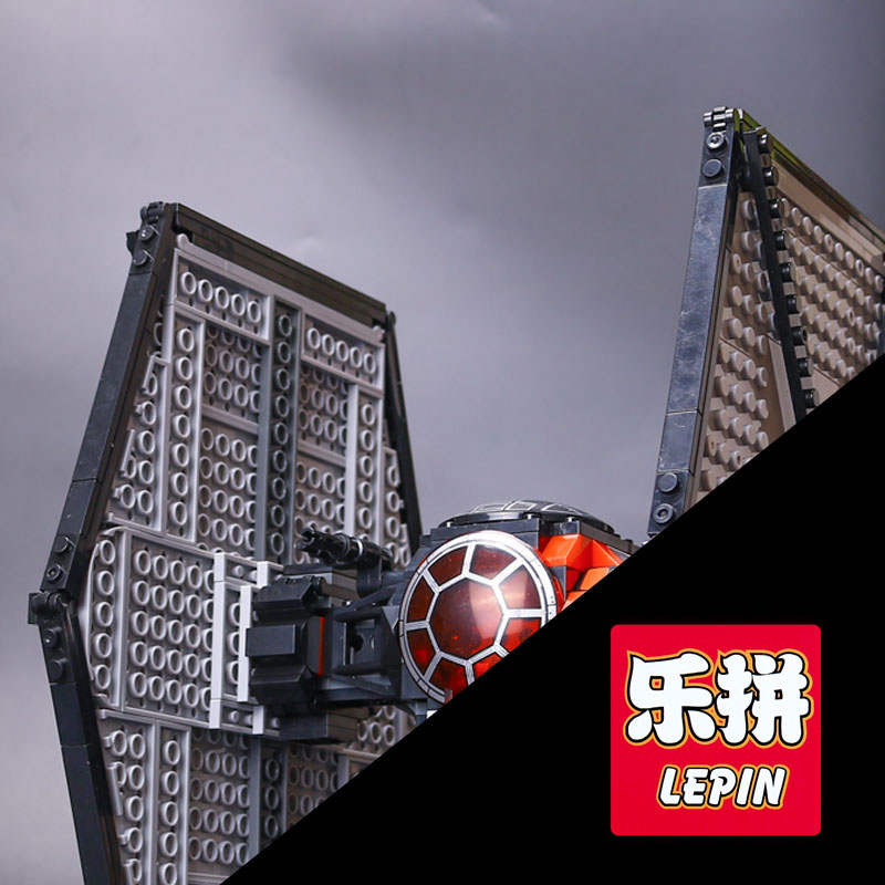 Lepin 05005 Star Series Wars First Order Special Forces TIE Model Fighter 75101 Building Block Bricks Toys for Children Gift<br>