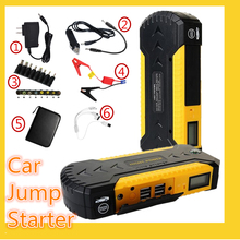 High capacity jump auto starter 12V car jumper charger auto Portable car charger Booster Emergency Battery Charge power bank