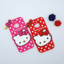 New 3D Cartoon Hello Kitty Case Soft Silicon Back Cover for HTC One M9 Plus M9pt M9pw Hima U M9+ Rubber Phone Shell
