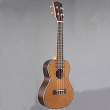27 Inch 18 Frets Wooden Electric Guitar Musical Instruments Ukulele  Guitar 4 Strings Ukelele Guitarra Rosewood UT-63EQ