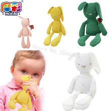 50cm Mamas & Papas Bunny Baby Bear sleep comfortable soft plush rabbit plush toy doll bear doll bed calm smoot baby can chew to