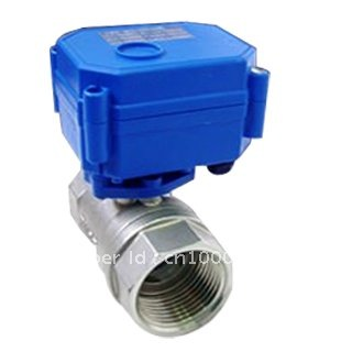 DC3-6V (5V) 1 Stainless Steel Electric Shut Off Valve DN25 Electric Motorized Ball Valve 3 Wires CR02 Wiring<br><br>Aliexpress