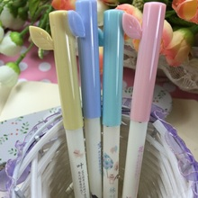 Wholesale study stationery retro Fresh Leaf design 0.5mm gel pen.student tool school office use office school supplies.good qual