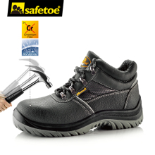 safetoe Safety Shoes Work Boots Men Steel Toe Cap Breathable Comfortable Anti-abrasion Oxford Mesh Hiking UK size 2-13 S3 SRC(China)