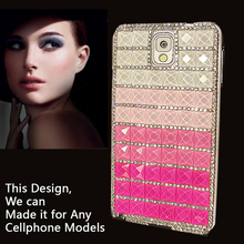 3D Luxury Bling Crystal Diamond Phone Cases For Samsung Galaxy Star Plus GT-S7262 Girly Sparkle Jewelry Coque Fruit Jelly Cover