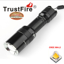 TrustFire Z6 CREE XM-L2 1000lm 5-Mode Zoomable LED Flashlight (1x18650)(China)