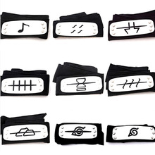 95cm Naruto headband leaf village cosplay 1:1 toys 2016 New Anime Naruto Kakashi Itachi akatsuki madara headband black blue red