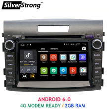 Free Shipping Android 2GB RAM Car DVD GPS For Honda CRV Car Stereo Radio New CRV 2012-2016 with TPMS optional OBD miralink SWC