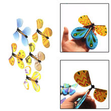 5pcs/Lot 2017 New Creative Transform Flying Butterfly Cocoon into a Butterfly Trick Prop Magic Toys