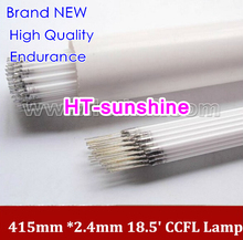 "150PCS Free Shipping 415MM*2.4MM 18.5"" wide screen LCD monitor High Quality 415 mm CCFL tube Cold cathode fluorescent lamps(China)"
