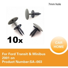 10x For Roof Lining & Carpet Trim Clips- Suitable for Ford Transit & Minibus 2001 on(China)