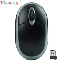 Beautiful Gift New 1PC 2.4GHz Wireless Optical 3D Buttons Mice Receiver Game Mouse Wholesale price May17(China)