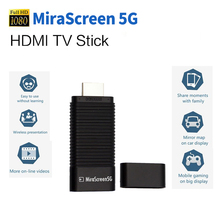 5G DLNA Airplay MiraScreen 5G TV Stick Dongle HDMI Miracast Air Mirroring High Speed Transmission WiFi Wireless Display Receiver