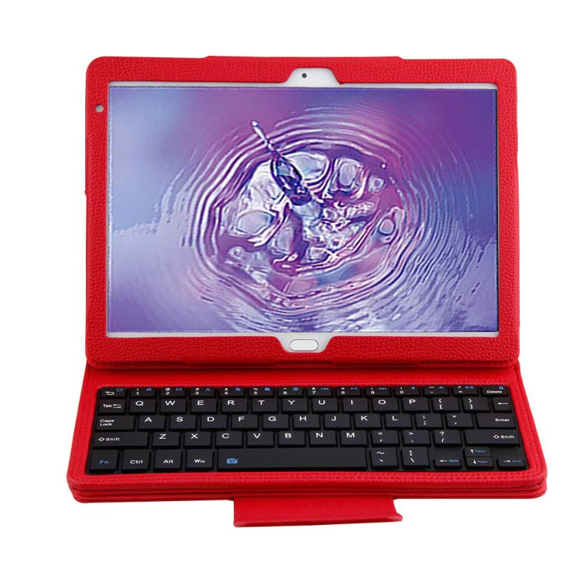 For Huawei MediaPad M3 10.1 inch Bluetooth Keyboard Case Flip Leather Cover Case AU01 Drop shipping<br>