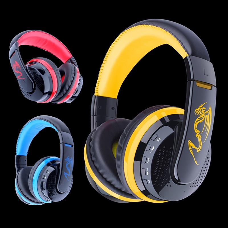 MX666 Bluetooth Game Gaming Headphone Wireless Stereo Super Bass Headset BT 4.0 + EDR Headband Earphone With Mic for Smart Phone<br><br>Aliexpress