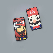 High Quality Super Mario Bros Phone Cases Fundas for iPhone 7 6S 6 Plus SE 5S 5 Childhood Game Hard Back Cover Coque