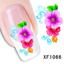 Rose Decal Nail Sticker Nail Art Water Decals All For Stikers Products For Women Free Shipping Nails Stickers Transfer