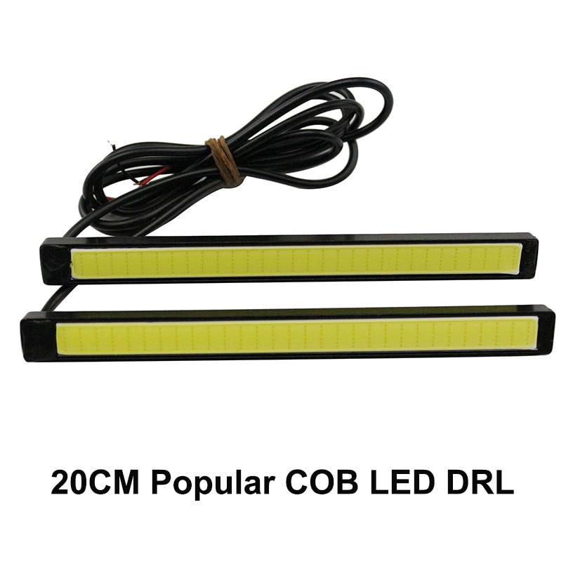 one pair  15CM COB high brightness 100% Waterproof COB Day time Lights LED<br><br>Aliexpress