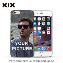 Custom Design DIY OEM Logo/Photo Hard PC Phone Case For iPhone case Customized Printing Cover For Samsung case(China)
