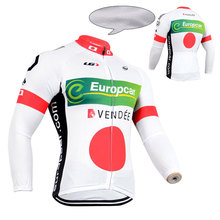 Team Bike Riding Tops Garments Clothes Winter Cycling Thermal Fleece Jersey Ropa Ciclismo Maillots Shirt Uniform