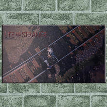 Life is strange railway walk canvas art painting on canvas pictures on the wall decorative pictures posters and prints