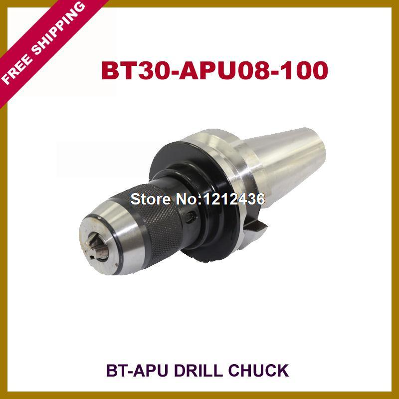 Free Shipping BT30-APU8-100 Drill Chuck Toolholder System Working On CNC Milling Machine<br><br>Aliexpress