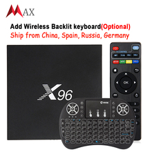 Newest X96 Smart TV Box Amlogic S905X Quad Core Android 6.0 TV Box WIFI HDMI 4K*2K HD KD 16.1 Set Top box Media Player Pk A95x