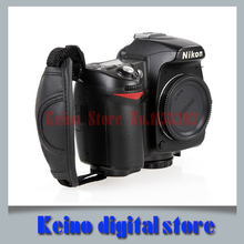 Leather Hand Grip Strap Photo Studio Accessories Camera Strap for N all brand camera D5000 D5100 D7000 D90