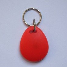 500pcs/bag IC cards nfc tag S50 RFID 13.56 Mhz IC Tag Token with Key Ring