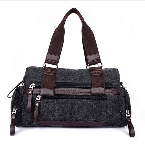 2017 Time-limited Sale Pocket Medium(30-50cm) Interior Slot Pocket Handbags Male Commercial Handbag Messenger Bag Canvas Bags<br>