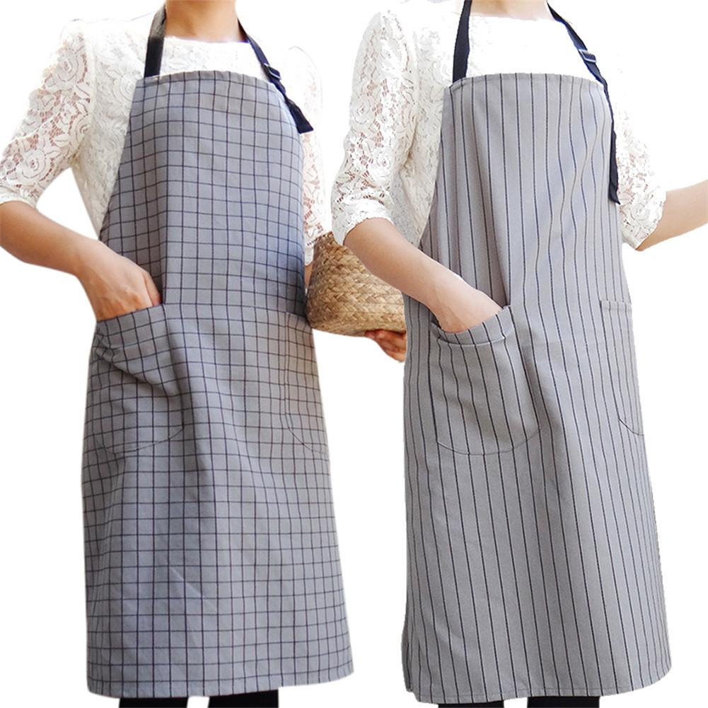 Electronic Components & Supplies Geometric Pattern Letter Print Unisex Cotton Linen Aprons For Kitchen Cooking
