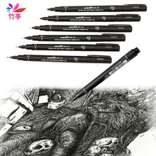 Waterproof Marker Drawing Pen Line Widths Choice Avaliable Uni PIN-200 Fineliner(China)